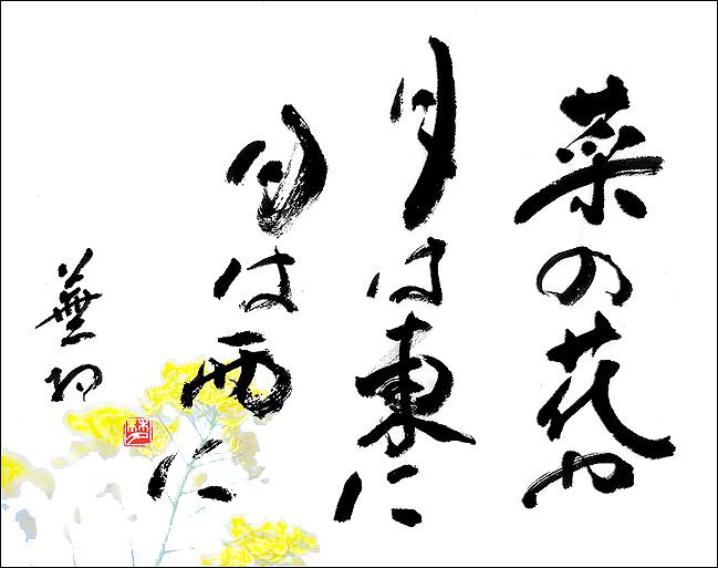 菜の花 与謝 や 蕪村